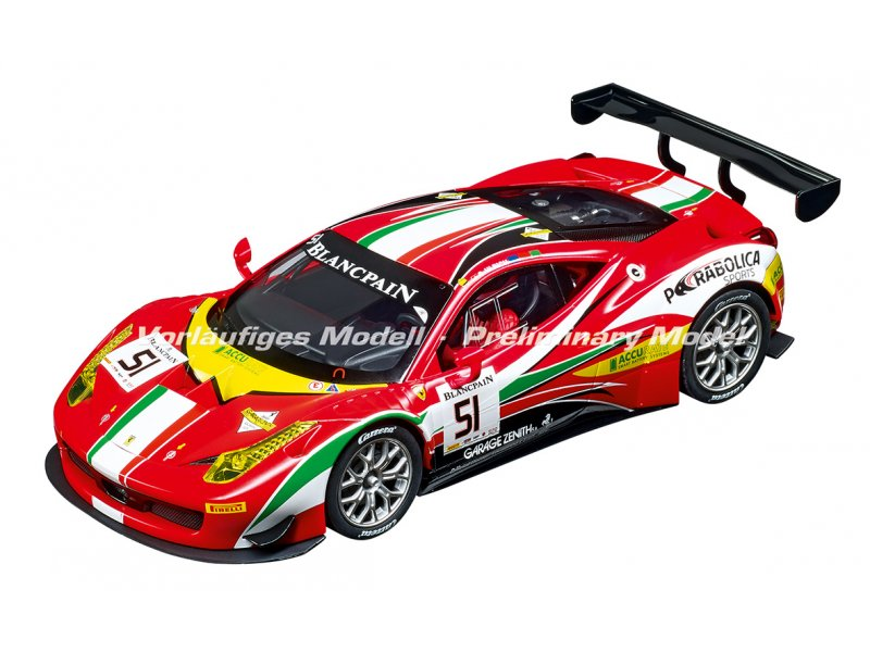 ferrari 458 italia gt3 carrera digital 124 neuheit. Black Bedroom Furniture Sets. Home Design Ideas